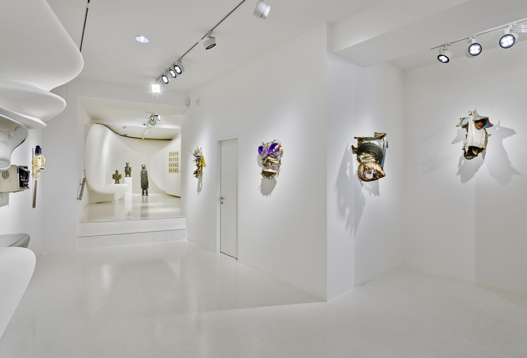 Installation View, Expressions d'Afrique/ Courtesy of Galerie Gmurzynska